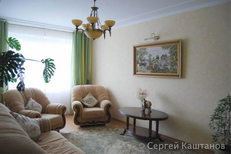 Ремонт трехкомнатной квартиры в микрорайоне «Садовый» в г.Чебоксары