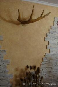 Отделка прихожей декоративным камнем в Чебоксарах